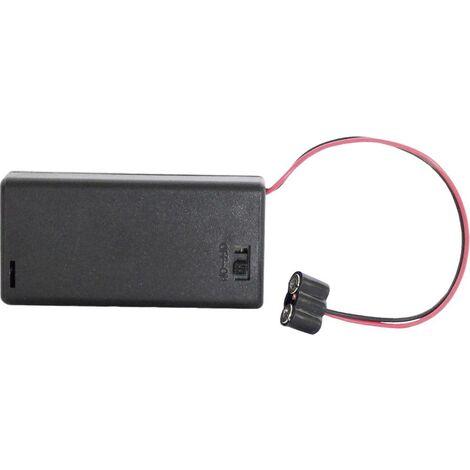 NEU//OVP Kahlert 60893 Batteriebox mit Schalter für 2 x 1,5 V AA Batterien