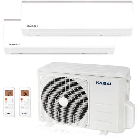 KAISAI FLY Multisplit Wandgerät 1 x 3,5 kW + 1 x 5,2 kW Duo Set EEK: A++/A