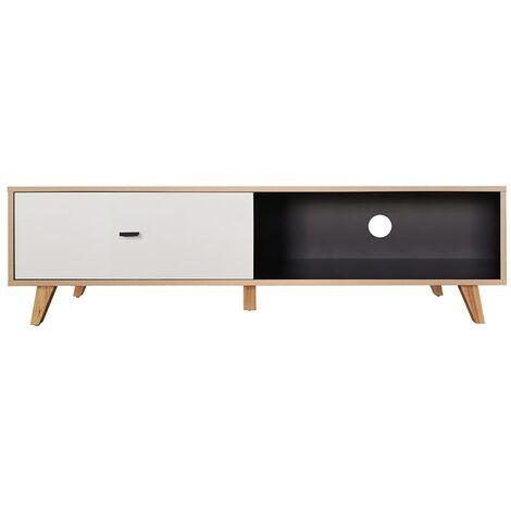 Kajani - Meuble TV en bois tiroir