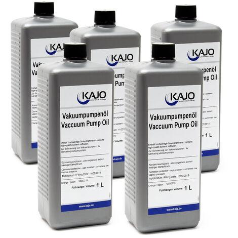 Kajo Huile universelle de pompe à vide pour pompes à palettes rotatoires 5000ml