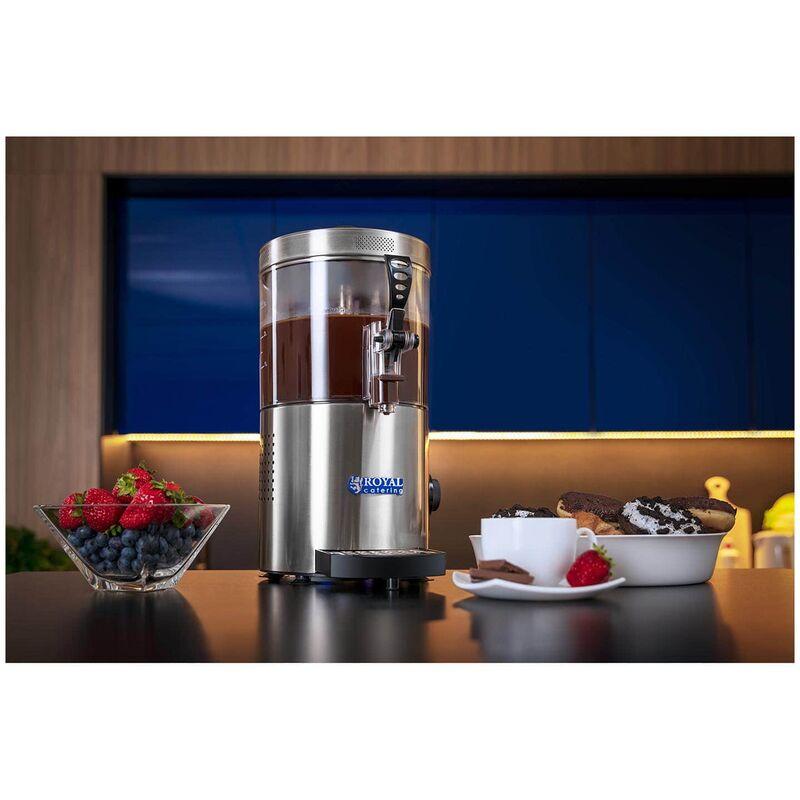 Kakaodispenser 10 L Getränkespender Heiße Schokolade Kakao Dispenser Milchwärmer