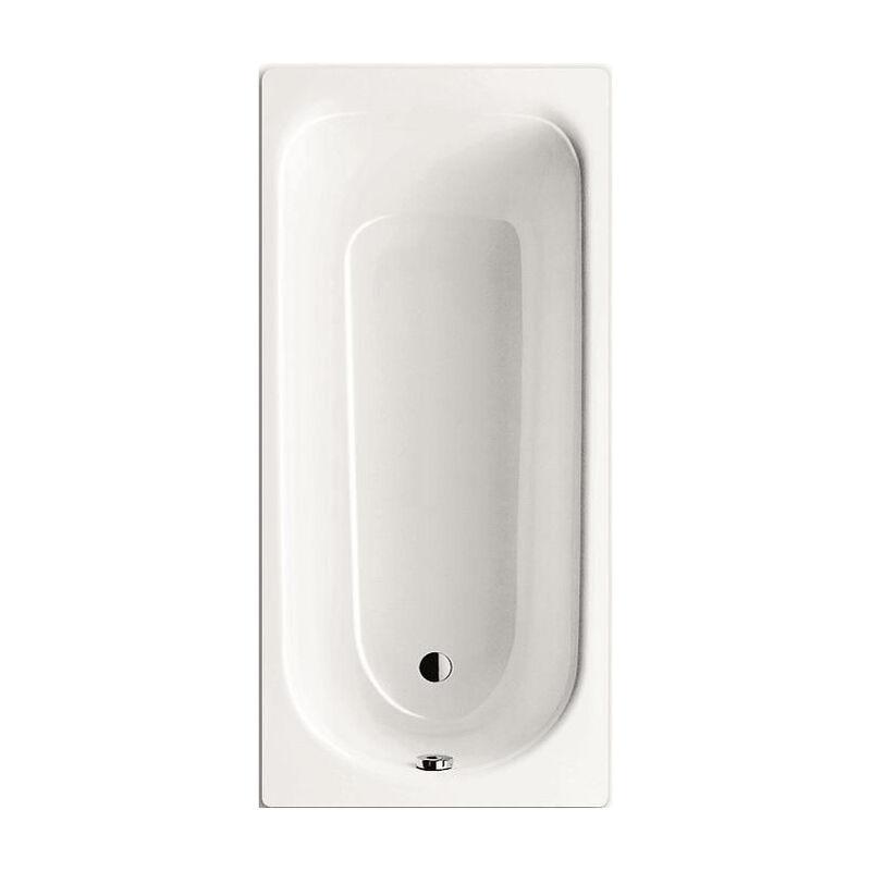 Kaldewei Baignoire Rectangulaire Eurowa 170x70 Cm Acier Emaille Blanc Alpin 119800010001
