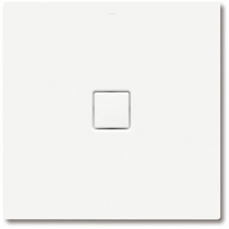 Kaldewei Conoflat 781-2 80x100cm avec support en polystyrène, Coloris: Gris Pasadena mat avec effet nacré - 465148043718