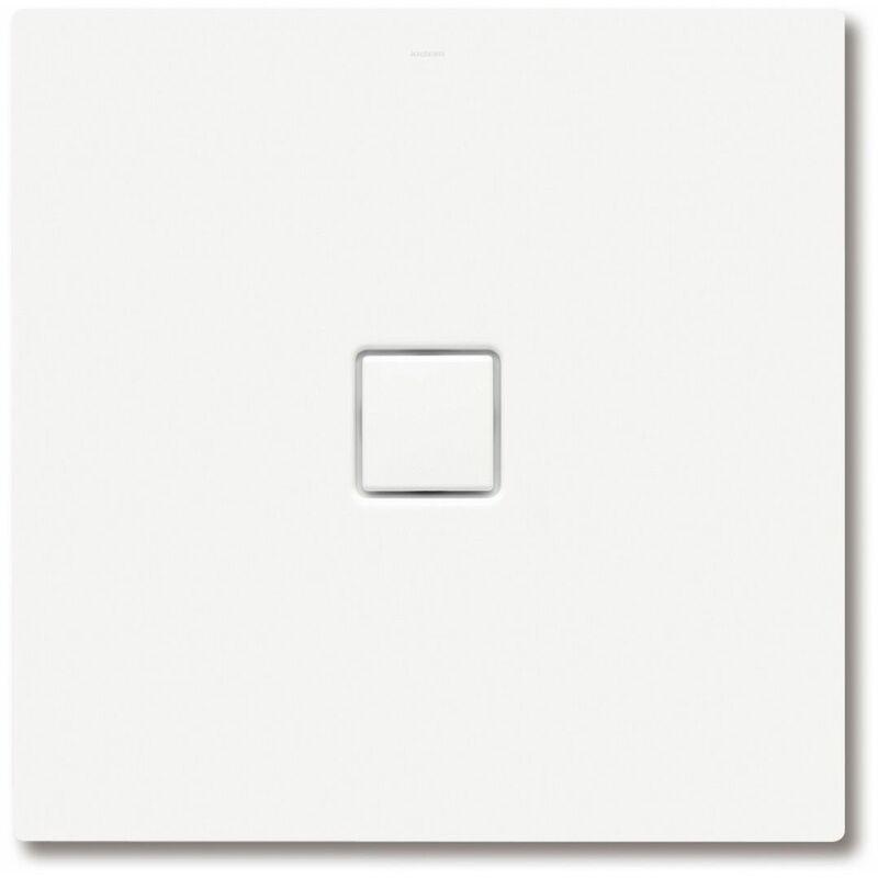 Conoflat 783-1 90x90cm, color: Ciudad antracita mate con efecto perla - 465300013716 - Kaldewei