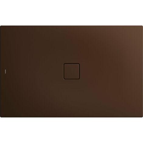 Kaldewei Conoflat 789-1 100x120cm, color: Marrón Woodberry Mate con efecto perla - 465900013730