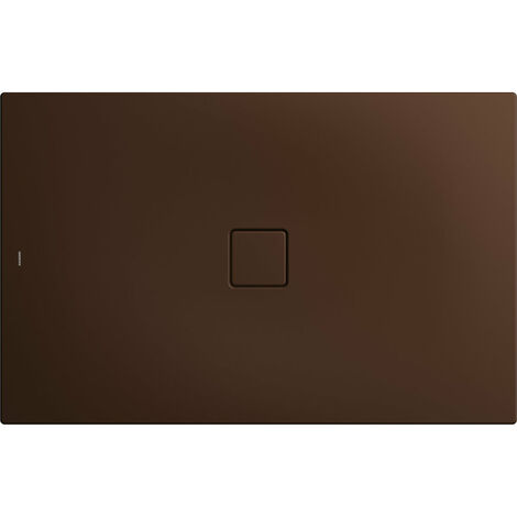 Kaldewei Conoflat 789-1 100x120cm, Coloris: Brun érable mat - 465900010731