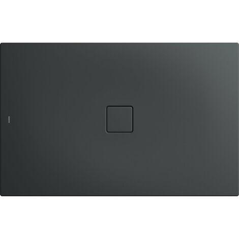 Kaldewei Conoflat 789-1 100x120cm, Coloris: City anthracite mat avec effet nacré - 465900013716