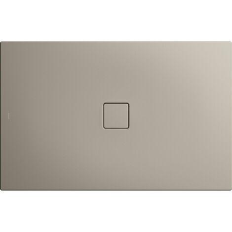 Kaldewei Conoflat 861-2 100x160cm avec support polystyrène, Coloris: Gris Perle Mat - 467748040719