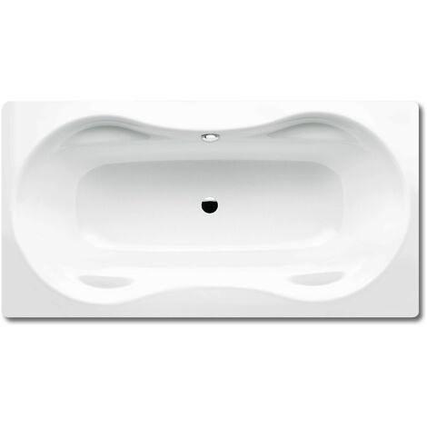 Kaldewei Mega Duo 180 180x90cm Mega Duo, Coloris: Blanc, avec effet nacré - 223400013001