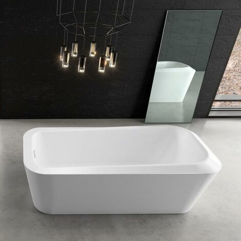 Kaldewei Meisterstück Emerso, bañera monoplaza independiente 1100, 180x80x41 cm, blanco alpino, cumplimiento: Racor de desagüe KA 4060 - 201140603001