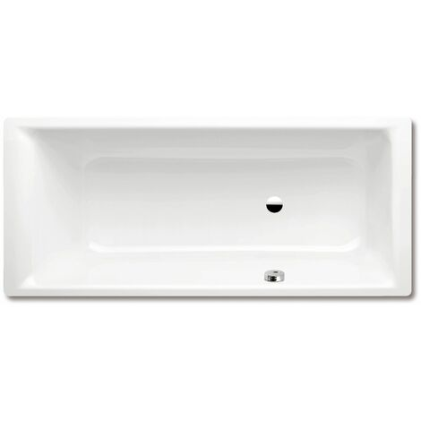 Kaldewei Puro 656 170x75cm avec trop-plein latéral 2566000100010001, Coloris: Blanc, avec effet nacré - 256600013001