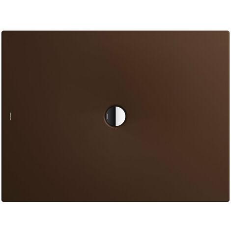 Kaldewei Receveur de douche Scona 940 70x90cm, Coloris: Erable Marron Mat avec effet nacré - 494000013731