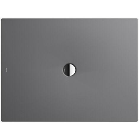 Kaldewei Receveur de douche Scona 967 100x120cm, Coloris: Gris Huître Mat - 496700010727