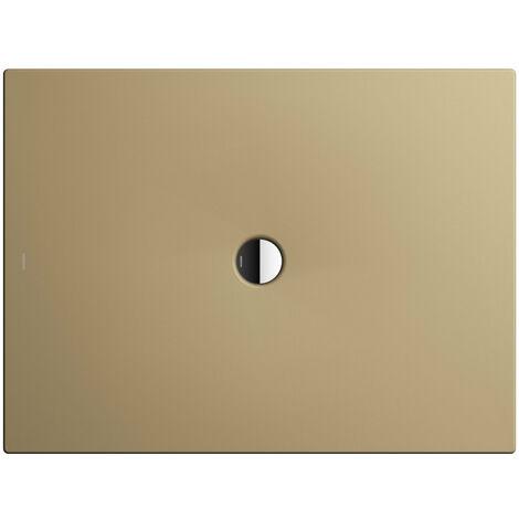 Kaldewei Receveur de douche Scona 977 100x140cm, Coloris: Beige Prairie Mat avec effet nacré - 497700013442