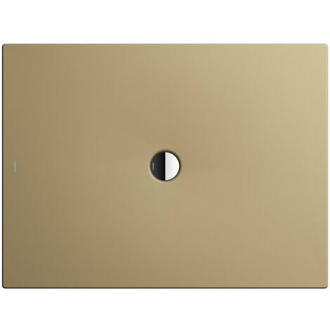Kaldewei Receveur de douche Scona 984 100x150 cm, Coloris: Beige Prairie Mat avec effet nacré - 498400013442