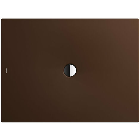 Kaldewei Receveur de douche Scona 984 100x150 cm, Coloris: Erable Marron Mat avec effet nacré - 498400013731