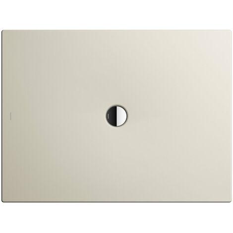 Kaldewei Receveur de douche Scona 989 100x160 cm, Coloris: Crème de coquillage matte - 498900010728