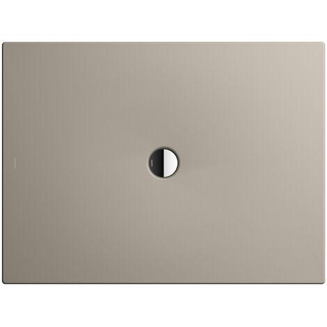 Kaldewei Receveur de douche Scona 989 100x160 cm, Coloris: Gris perle mat avec effet nacré - 498900013719