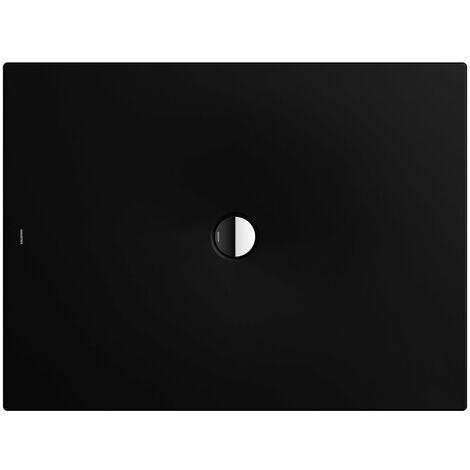 Kaldewei Receveur de douche Scona 989 100x160 cm, Coloris: lava noir mat avec effet nacré - 498900013717