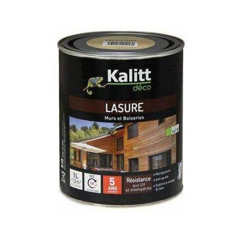Lasure 5 ans - Les modernes - Chêne incolore satiné 1L - KALITT