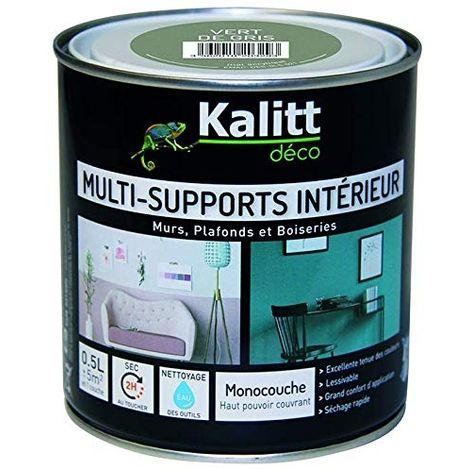 KALITT MULTI SUPPMAT VERT DE GRIS 0.5L KALITT DECO DES-MMS-001-0L5