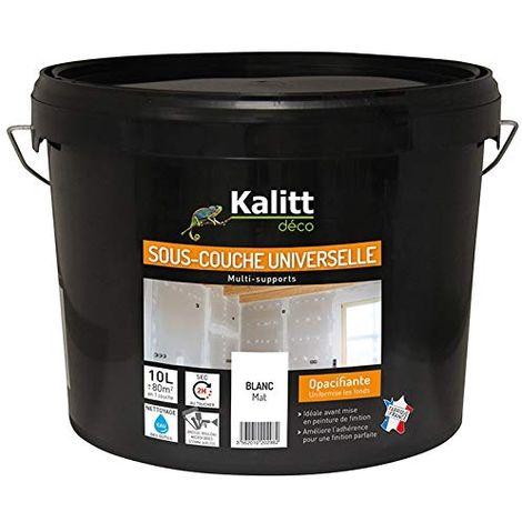 KALITT.SOUS COUCHE UNIVERSELLE MAT 10L KALITT DECO DES-SCU-000-10L