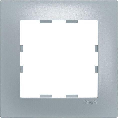 Kallysta pop plaque 3 postes verticale entraxe 71 coloris titane