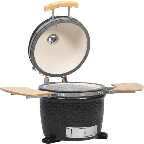 "main image of ""Kamado Barbecue Grill Smoker Ceramic 44 cm - Black"""