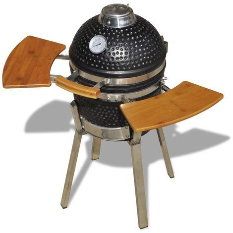 Kamado Barbecue Grill Smoker Ceramic 76 cm