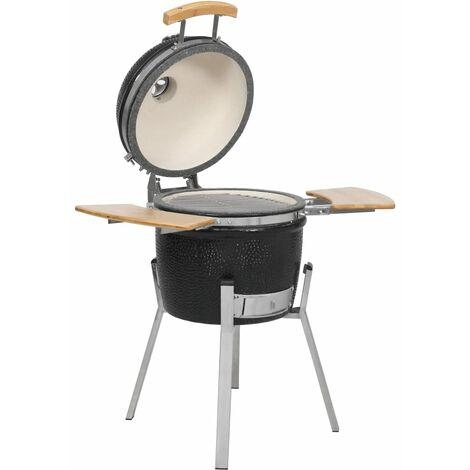 "main image of ""Kamado Barbecue Grill Smoker Ceramic 76 cm - Black"""