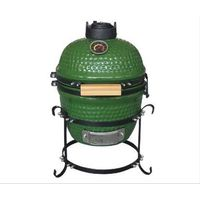 Kamado Grill 13 - grün Kamadoegg Keramikgrill Kamado BBQ