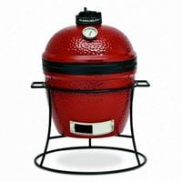 Kamado Joe 34cm Joe Jr Ceramic BBQ with Cast Iron Stand