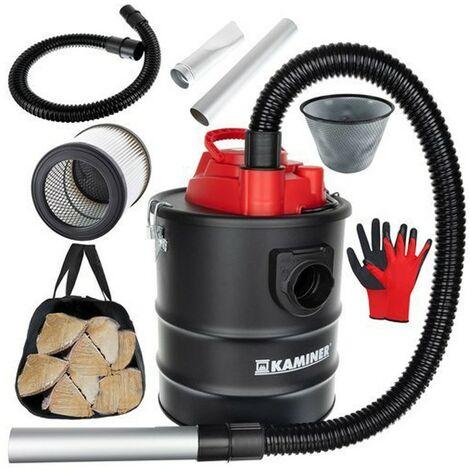 KAMINER Aspirateur/souffleur vide cendres cheminée poêle 1200W