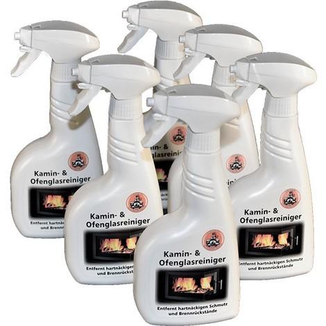 Kaminglasreiniger Kaminreiniger Ofenreiniger Ofenglasreiniger - 2 Flaschen Kamin- und Ofenglasreiniger Art. 13010 (2 Flaschen)