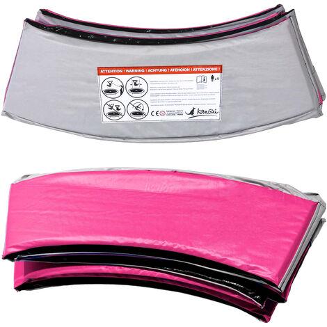 Kangui - Coussin PVC de protection pour trampoline Ø 360 cm - Rose