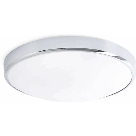 Kao chrome bathroom ceiling light