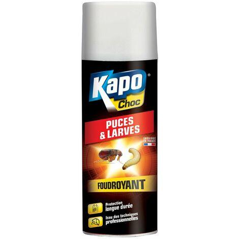 Kapo puces larves black 400ml 3097