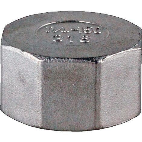 Kappe EN 10226-1 NPS=4 Zoll 8-kant L 45,5mm SPRINGER