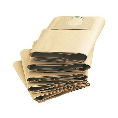 Karcher 6.959.130.0 Dust Bags for A2204 & A2234PT Vacuum Pack of 5