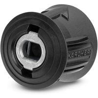 en m/étal T/ête doutil pour lavage de voiture haute pression 15 mm fixation facile pour adaptateur Karcher K M22 Majome