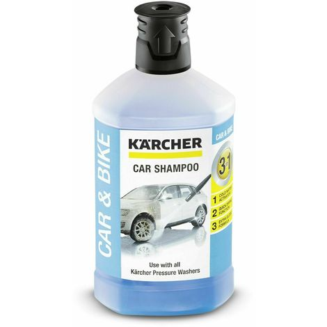 Karcher detergente idropulitriche auto moto shampoo 3 in 1 sapone 6295-7500