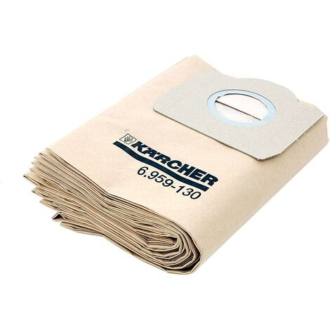 Karcher - Sac filtrants papier A2254 / 2554 / 2654 / 2656