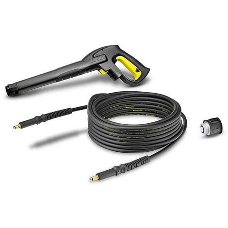 Karcher - Set d'accessoires Quick Connect flexible haute pression 7,5 m avec poignée-pistolet et raccordement