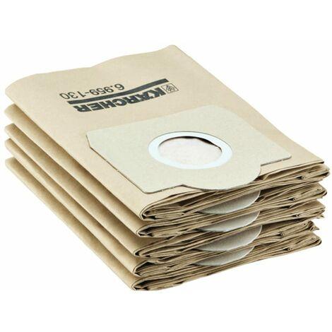 Karcher Vacuum Bags - Pack of 5