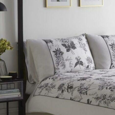 Karen Millen Illustrated Floral Print Housewife Pillowcase Pair