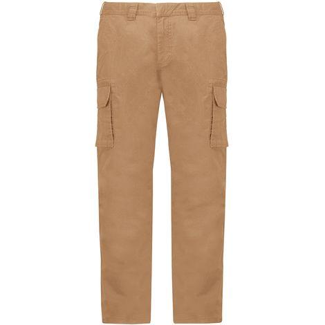 Kariban Adults Unisex Multi-Pocket Cargo Trousers