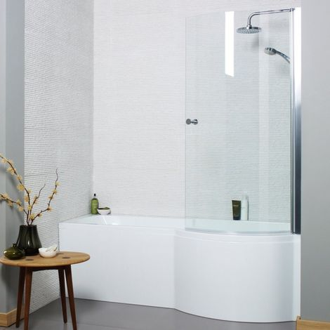 Kartell Adapt 1500mm X 850mm P Shaped Right Hand Bath Only