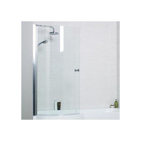 Kartell Adapt P Shaped Shower Bath Screen