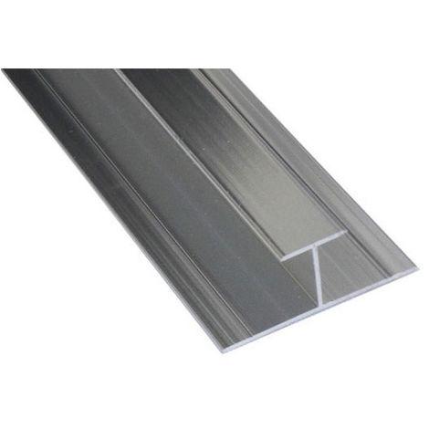 Kartell Aluminium H Joint Chrome 10mm