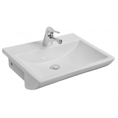 Kartell Aspect 1TH 550mm Semi-Recessed Basin